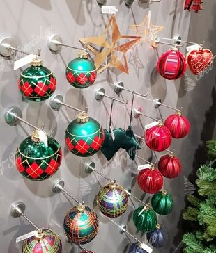 Retro vianočné ozdoby na stromček