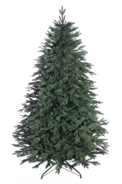 Umelý vianočný stromček v prevedení smrek s realistickým 3D ihličím tmavo-zelenej farby