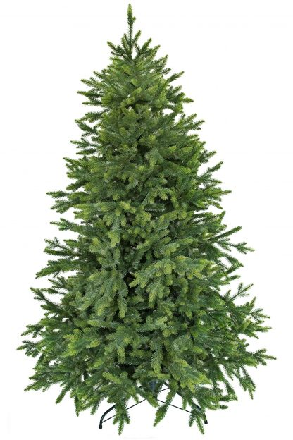 Umelý vianočný stromček v prevedení smrek taliansky s bledo-zelenými končekmi vetvičiek