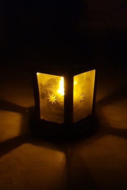 LED lampáš vintage