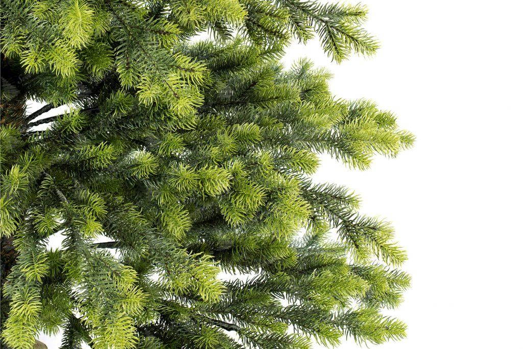 Umelý vianočný 3D stromček Smrek Taliansky detail 1