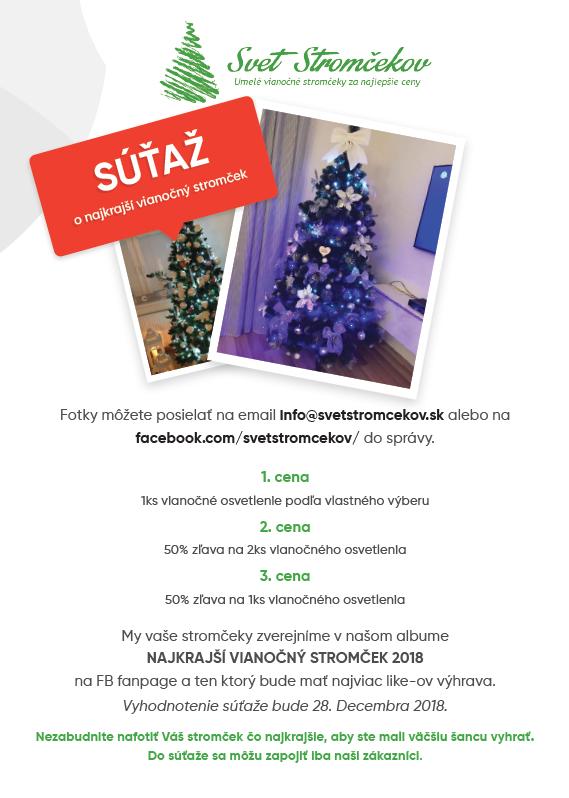 najkrajší vianočný stromček 2018