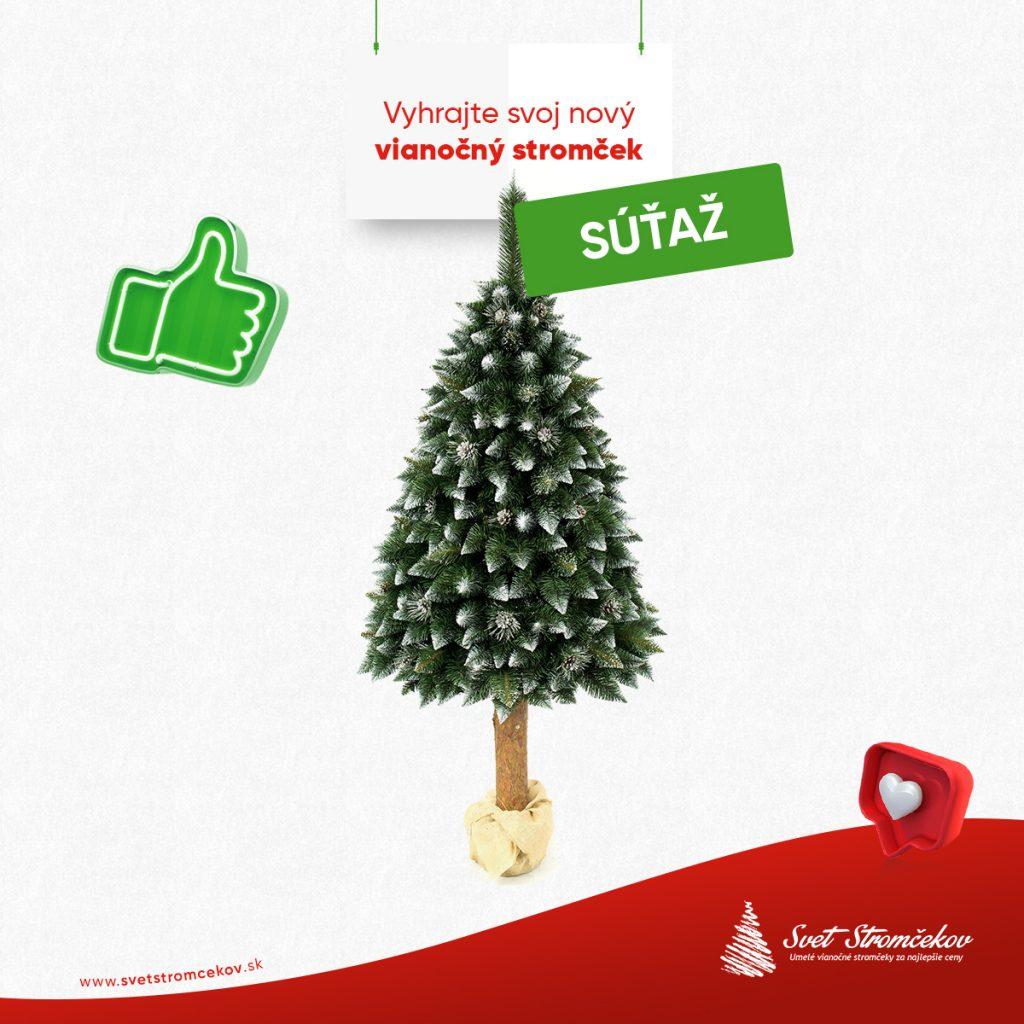 súťaž o vianočný stromček