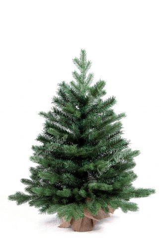 Krásny malý stromček, ktorý sa rozpína na spodku do šírky. Obsahuje veľký počet 3D vetvičiek a tak je vyzerá ako živy malý stromček z lesa. Stromček stojií na umelom podstavci zabalenom vo vrecovine .