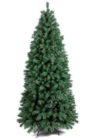 Stromček je úzkeho ihlanového tvaru. Obsahuje veľký počet vetvičiek a tak pôsobi veľmi hustým dojmom . Vetvičky veľmi realisticky napodobňujú pravé borovicové ihličie. Stromček je postavený na kovovom stojane .