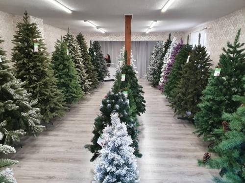 Umelé vianočné stromčeky predaj Bošany 6