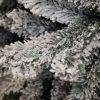 Umelý vianočný stromček Smrek Severský detail zasnežené vetvičky 2