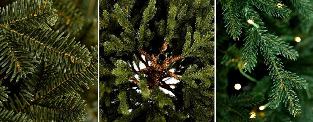 Výber vianočného stromčeka podľa rôznych parametrov