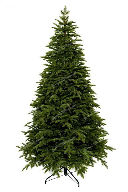 Vianočný stromček FULL 3D Jedľa Kaukazská tvorený len 3D ihličím. Stromček vyzerá ako živý.