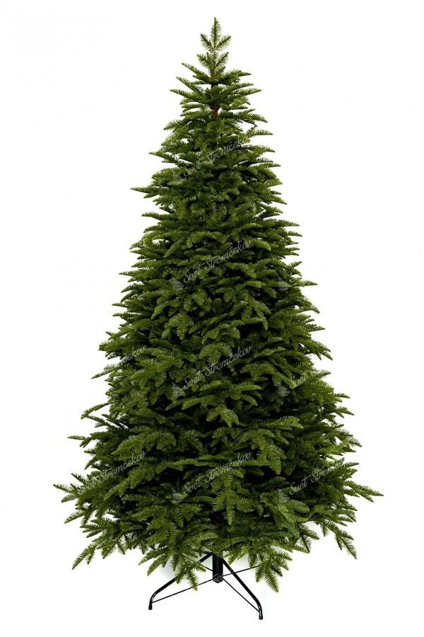 Luxusný vianočný stromček tvorený 100% 3D jedľovým ihličím