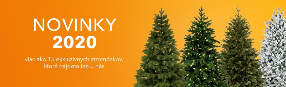 Novinky 2020 - umelé vianočné stromčeky
