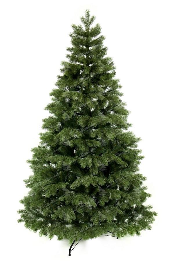 Moderný vianočný stromček tvorený 100% len s 3D borovicovým ihličím