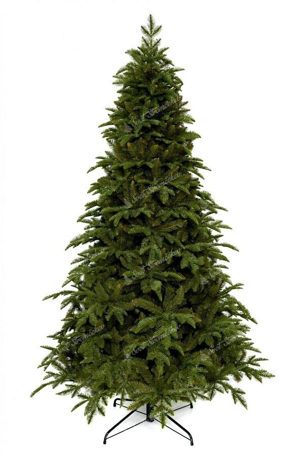 Moderný vianočný stromček s jedinečným jedľovým ihličím
