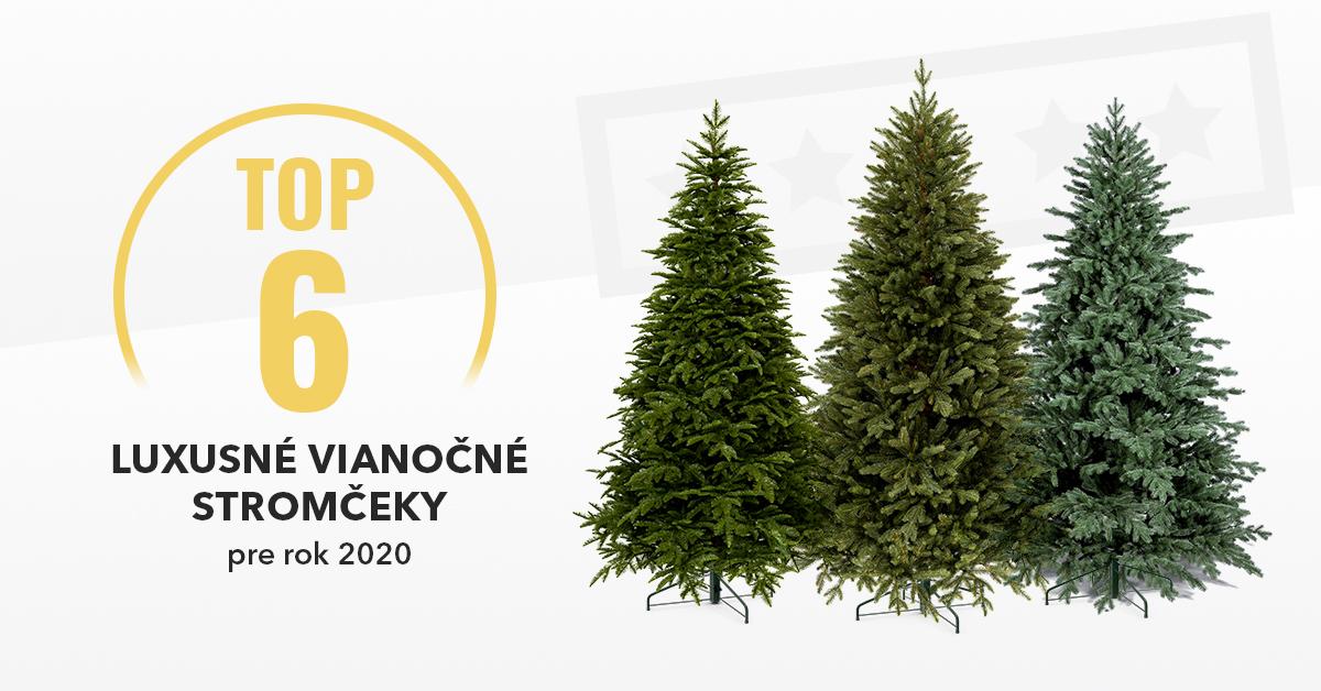 Luxusné vianočné stromčeky - TOP6 pre rok 2020