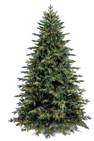 Detail ihličia s LED osvetlením vianočný stromček FULL 3D Smrek Exkluzívný