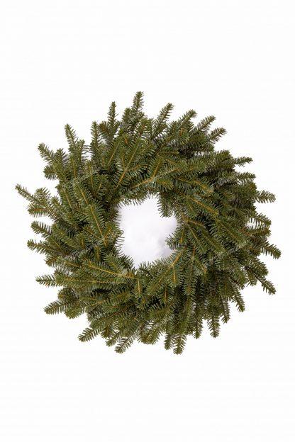 Moderný vianočný veniec 3D Jedľa Smaragdová