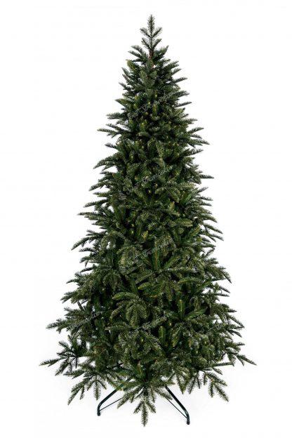 Umelý vianočný stromček 3D Jedľa Normandská. Umelý stromček s tmavozeleným realistickým ihličím.