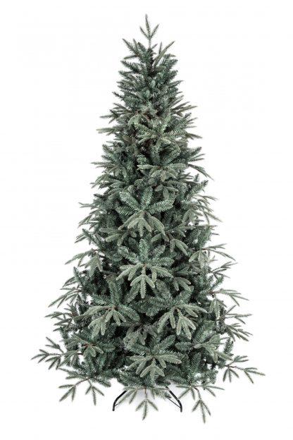 Umelý vianočný stromček 3D Jedľa Striebristá. Vianočný stromček tyrkysovo striebornej farby.