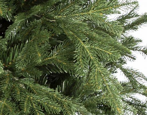 Umelý vianočný stromček 3D smrek mohutný, detail ihličia