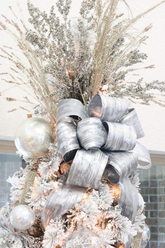 Mašľa na vianočný stromček