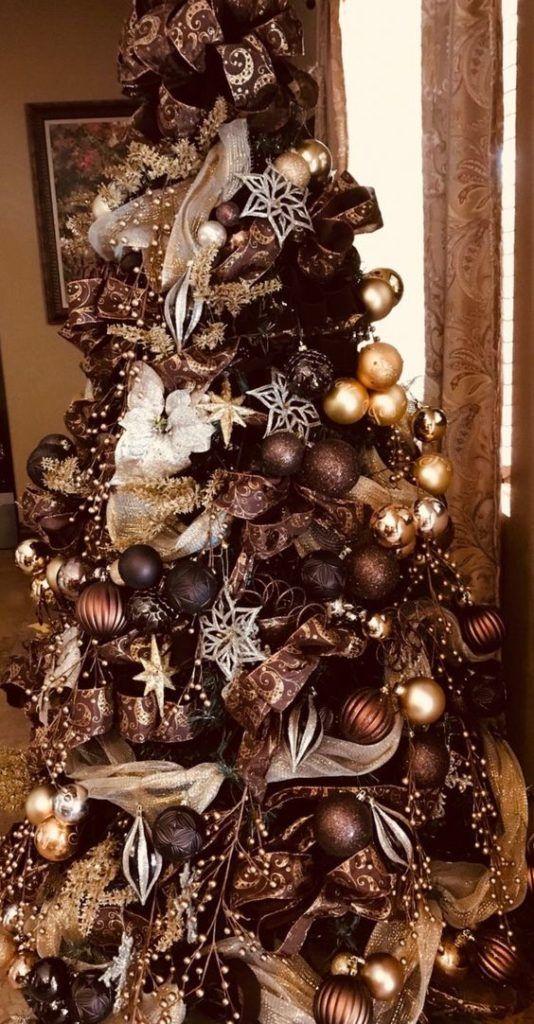 Medené vianočné ozdoby