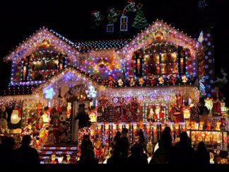 Osvetlenie na Vianoce