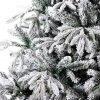 Vianočný stromček 3D Jedľa Sibírska detail ihličia