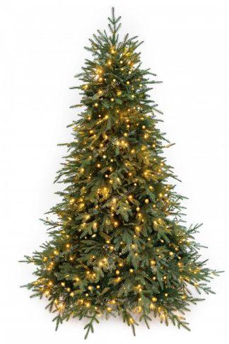 Vianočný stromček 3D Smrek Mohutný s LED osvetlením