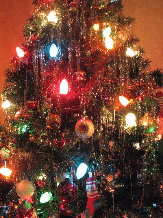 Žiarovky na vianočný stromček